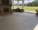 grand garages concrete patio before 2
